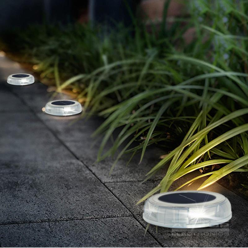 High quality outdoor waterproof IP65 garden landscape solar underground light
