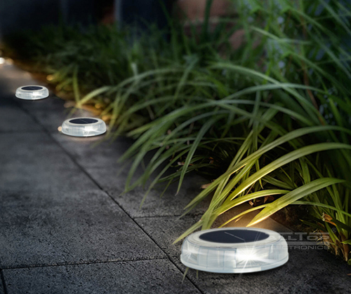 high quality solar outdoor walkway lights supply for decoration-3