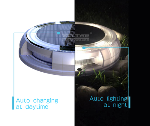 high quality solar outdoor walkway lights supply for decoration-4