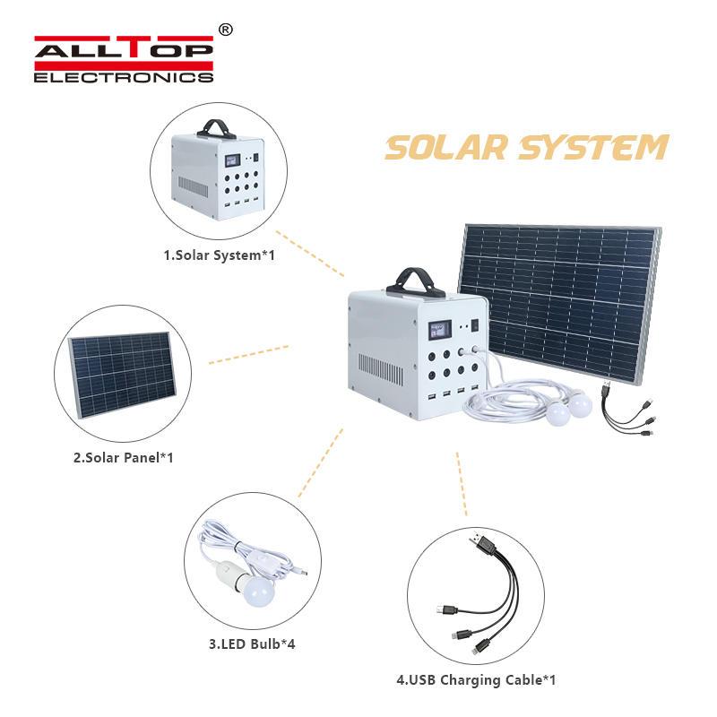 ALLTOP Portable smart home solar home system