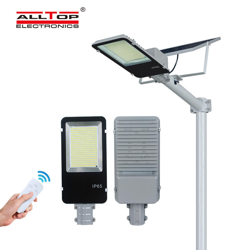 ALLTOP high quality ip65 waterproof aluminum outdoor led solar street light