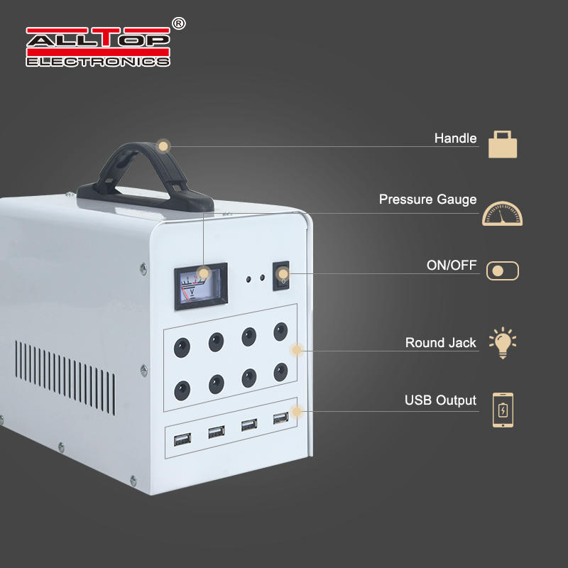 ALLTOP Newly designed high-quality off-grid household solar power system