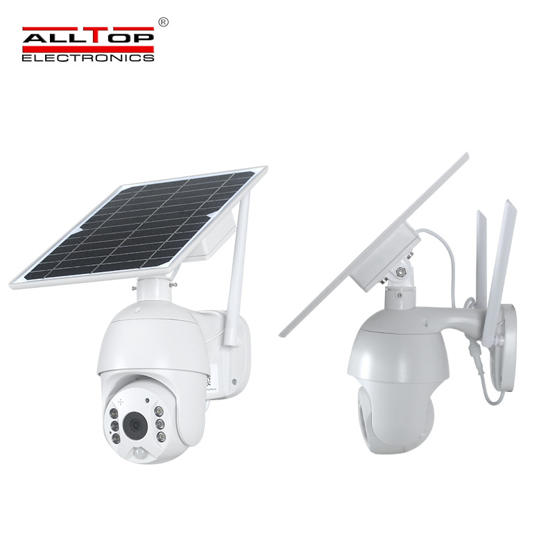 product-ALLTOP -ALLTOP HD video wireless monitoring outdoor solar CCTV WIFI 4G alarm smart security