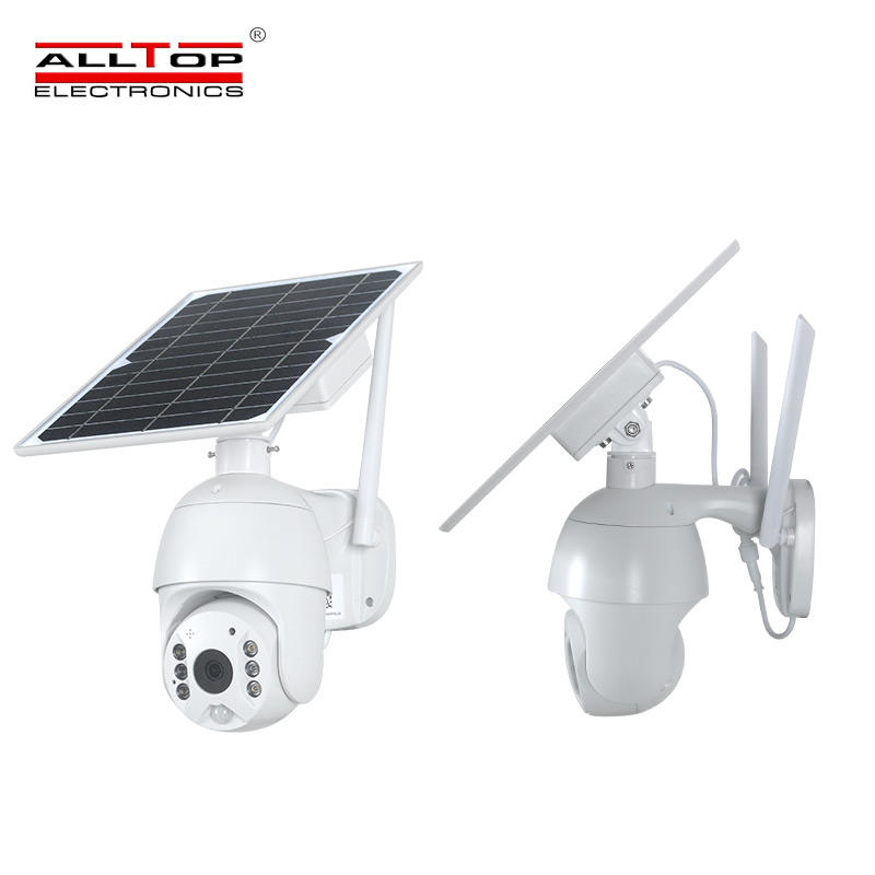 4g solar powered security camera