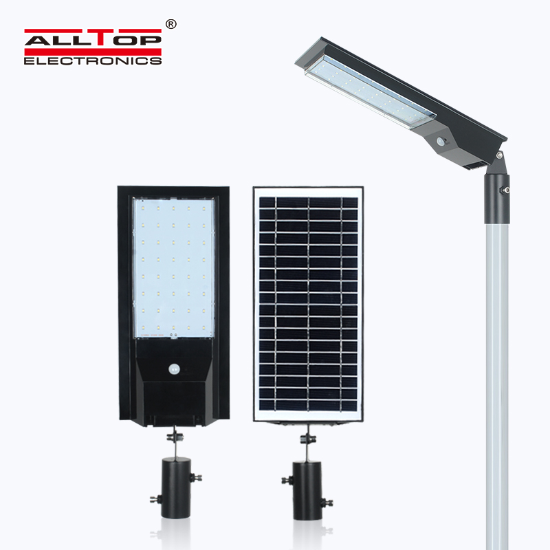 product-ALLTOP Newest design outdoor park road lighting ip65 led solar street light-ALLTOP -img