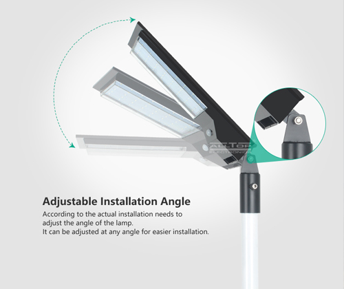 product-ALLTOP -ALLTOP Newest design outdoor park road lighting ip65 led solar street light-img-1