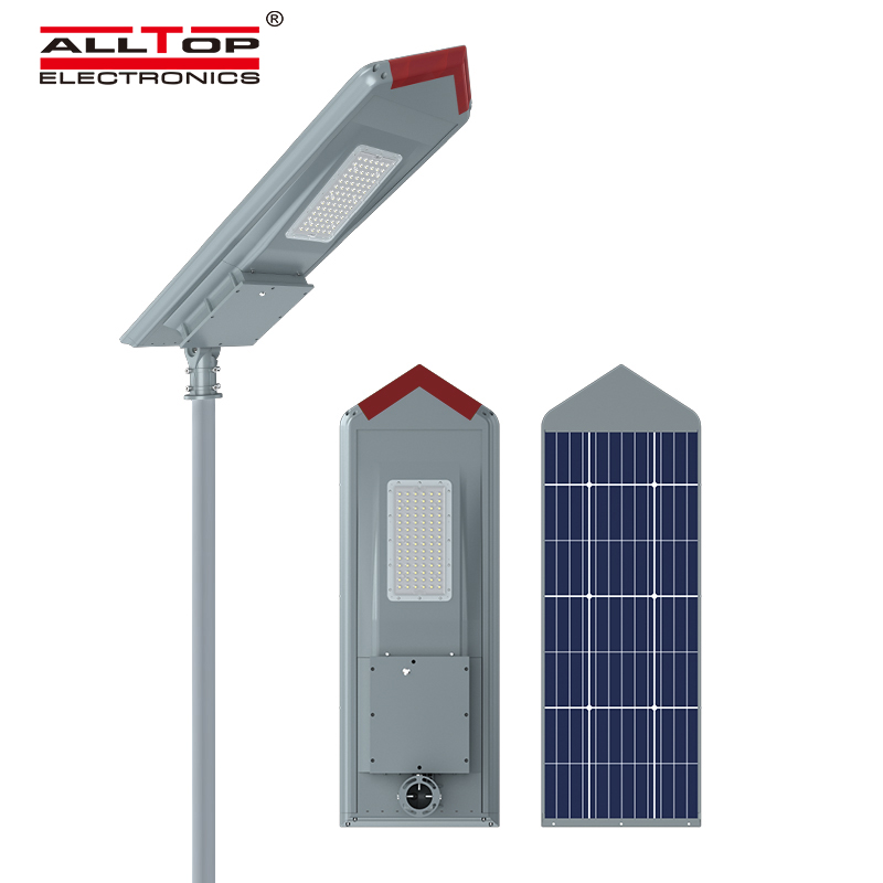 ALLTOP waterproof all in one solar street courtyard light supplier for highway-1