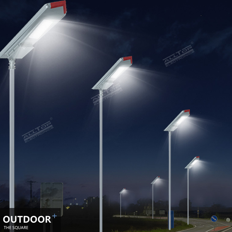 ALLTOP waterproof all in one solar street courtyard light supplier for highway-9