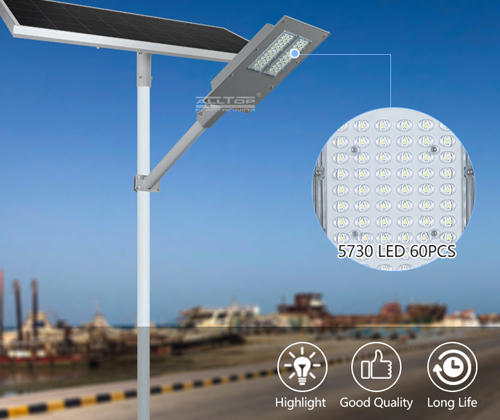 ALLTOP waterproof 30w solar street light factory for playground