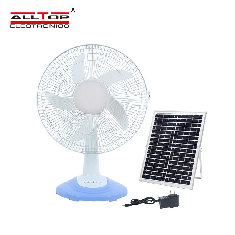 ALLTOP Hot sale high quality motor AC/DC electric three wind speed solar fan