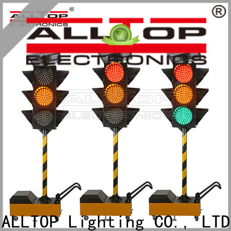 ALLTOP solar powered traffic lights suppliers directly sale for hospital
