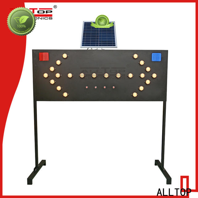 ALLTOP traffic light sign series for security