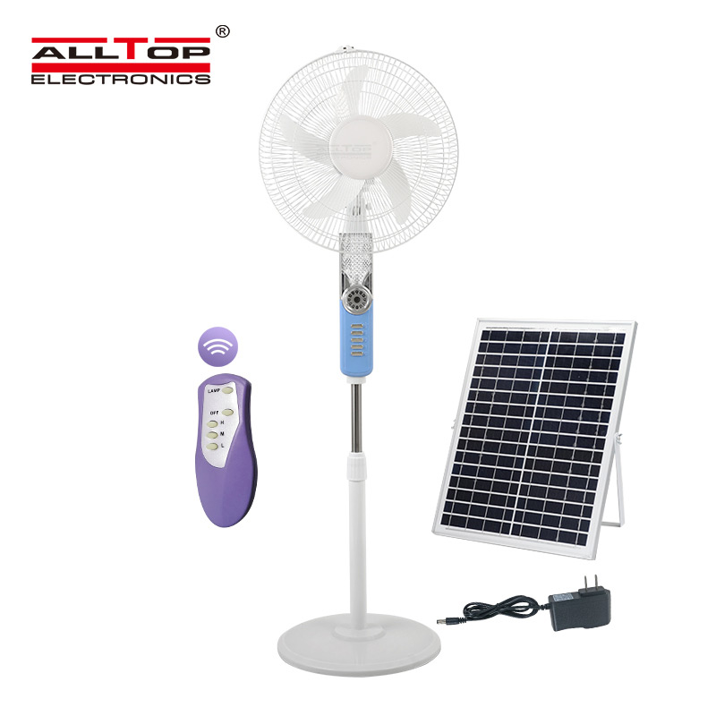 product-ALLTOP -ALLTOP Hot sale high quality motor ACDC electric three wind speed solar fan-img