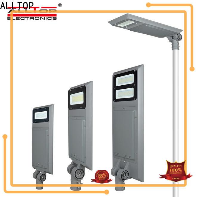 ALLTOP integrated solar light supplier for highway