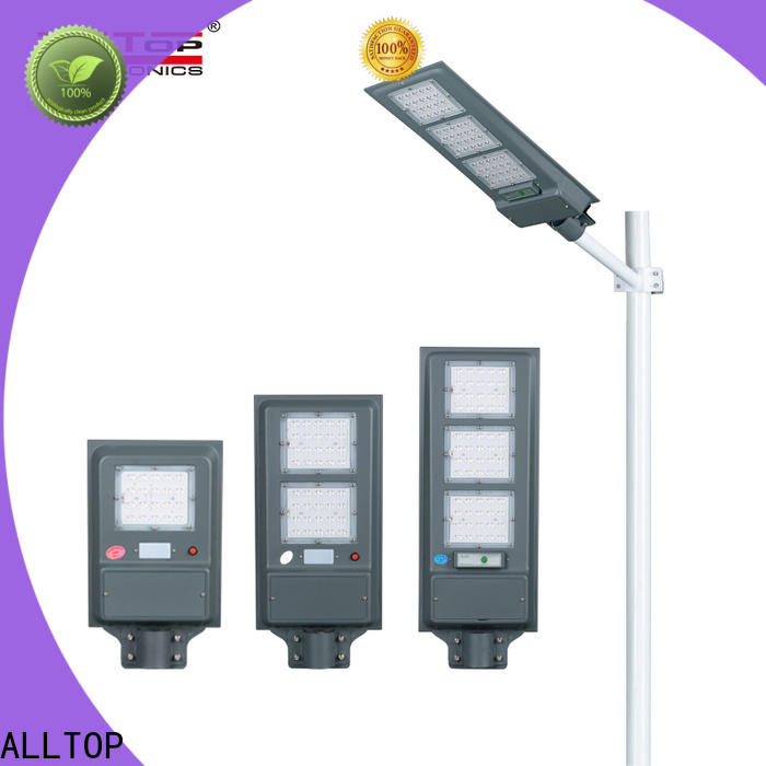 ALLTOP automatic solar street light factory supplier for highway