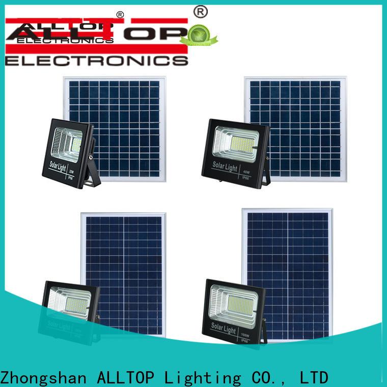 ALLTOP solar flood lights company for spotlight