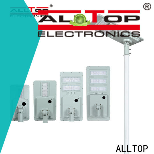 ALLTOP integrated solar powered lights wholesale for garden