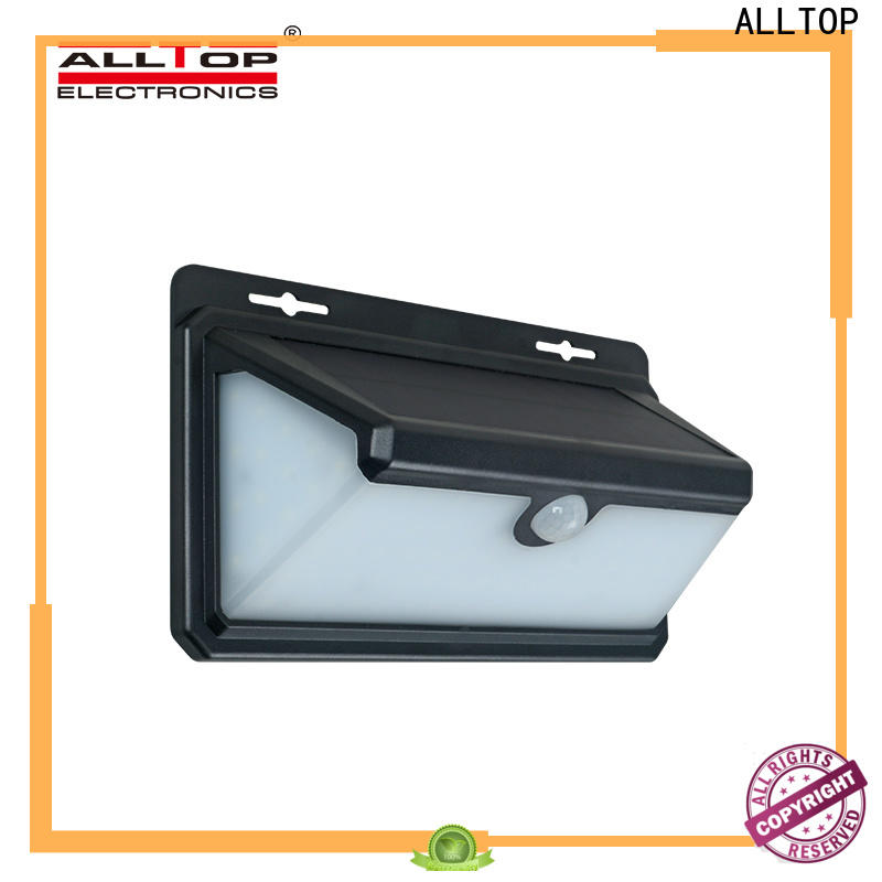 ALLTOP waterproof solar wall lantern with good price for garden