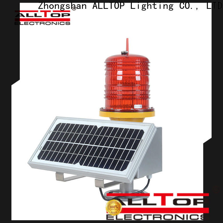 ALLTOP solar powered traffic lights price directly sale for police