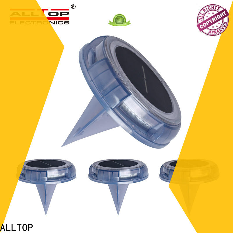 ALLTOP solar led garden light factory company for decoration