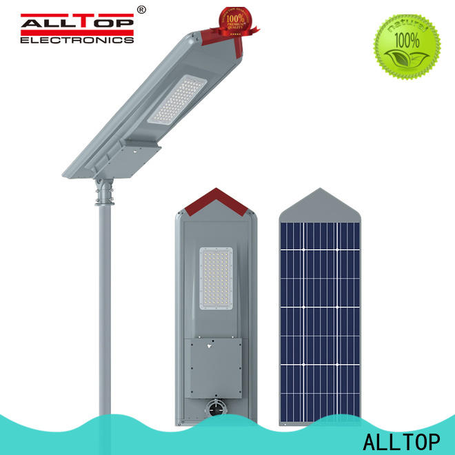 ALLTOP integrated solar lamp directly sale for highway