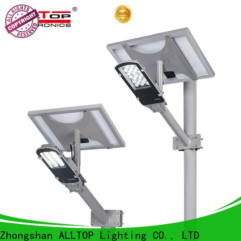 ALLTOP waterproof 20w solar street light wholesale for lamp