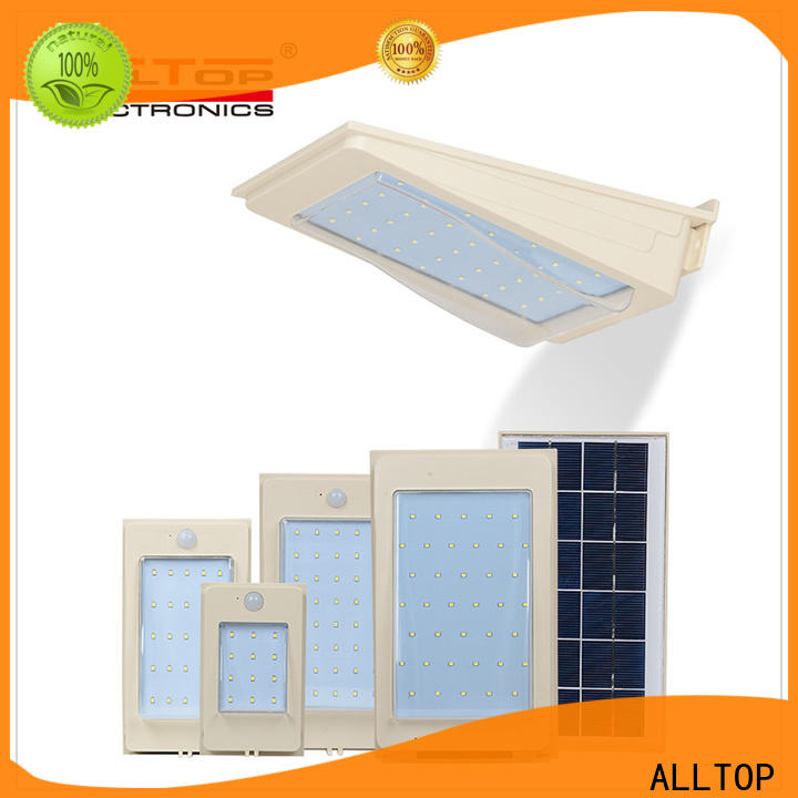 ALLTOP stainless steel solar wall lamp factory direct supply for garden