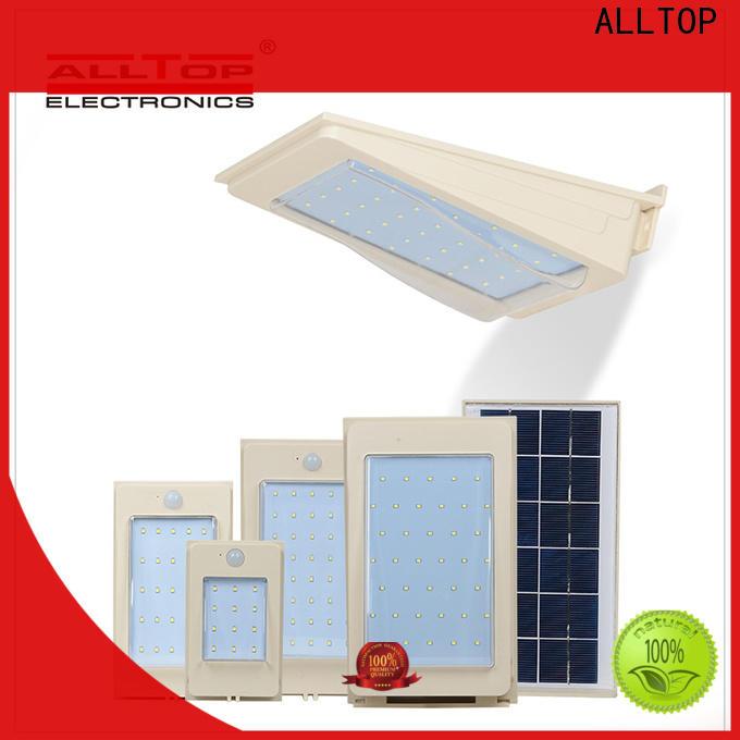 ALLTOP solar led wall pack manufacturer for street lighting
