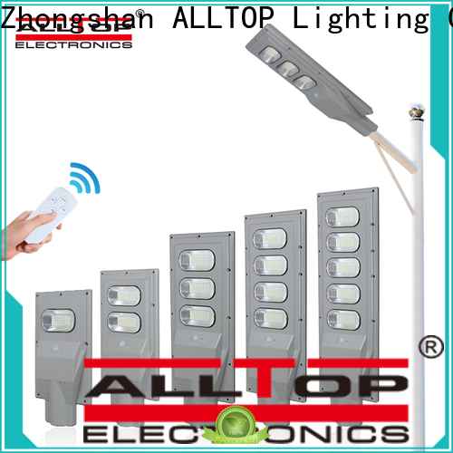 ALLTOP solar pole lights factory direct supply for highway