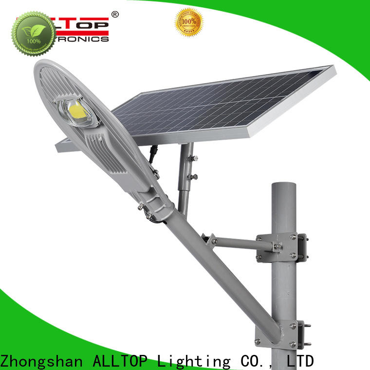 ALLTOP 20w solar street light supplier for garden