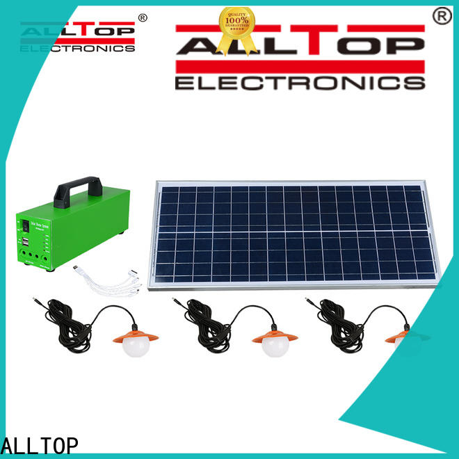 portable solar powered lights oem with good price for camping