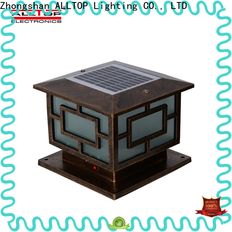 ALLTOP wholesale solar garden light company for decoration