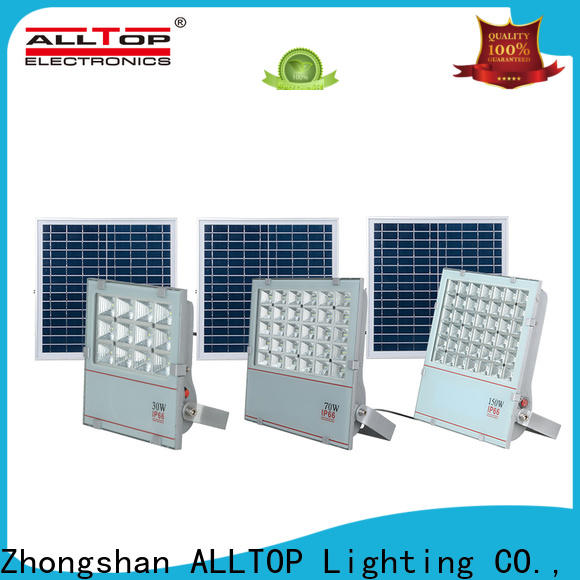 ALLTOP solar flood lamp suppliers for spotlight