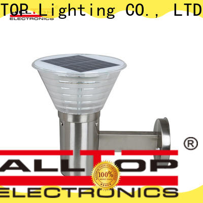 ALLTOP solar wall lamp factory direct supply for camping