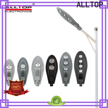 ALLTOP automatic led street light heads company for lamp