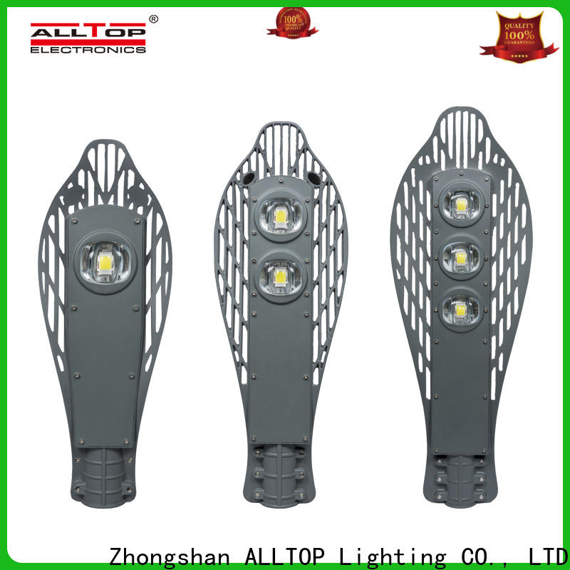 ALLTOP automatic customized 60w integrated solar street light for business for park