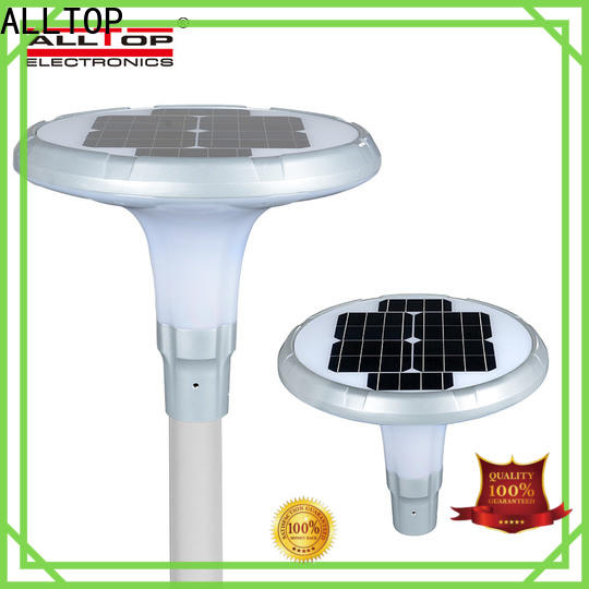 ALLTOP 12w solar street light factory for landscape