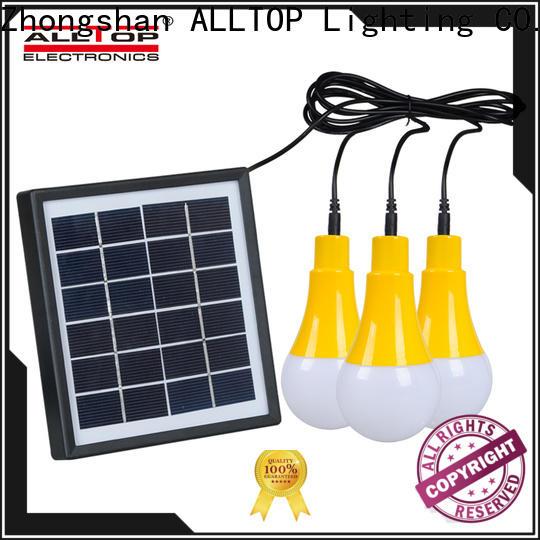 ALLTOP solar pir wall light manufacturer for camping