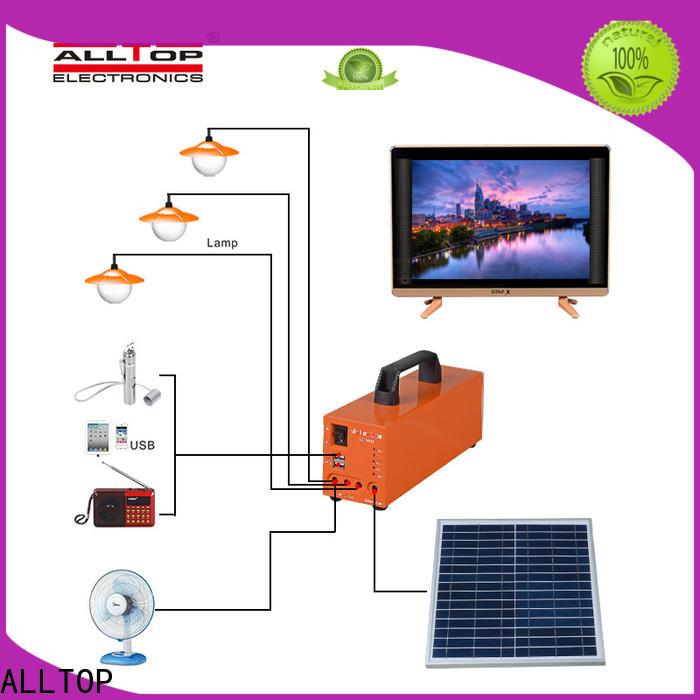 ALLTOP multi-functional solar powered lights oem wholesale indoor lighting