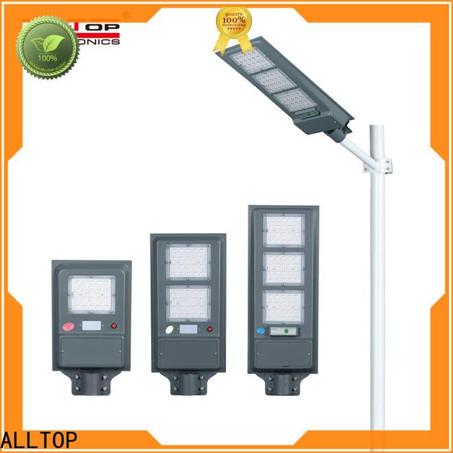 ALLTOP waterproof solar powered lights manufacturer for highway