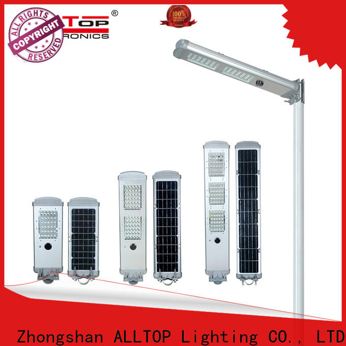 ALLTOP outdoor integrated street light directly sale for highway