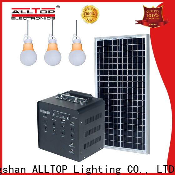 ALLTOP multi-functional solar panel system supplier for home
