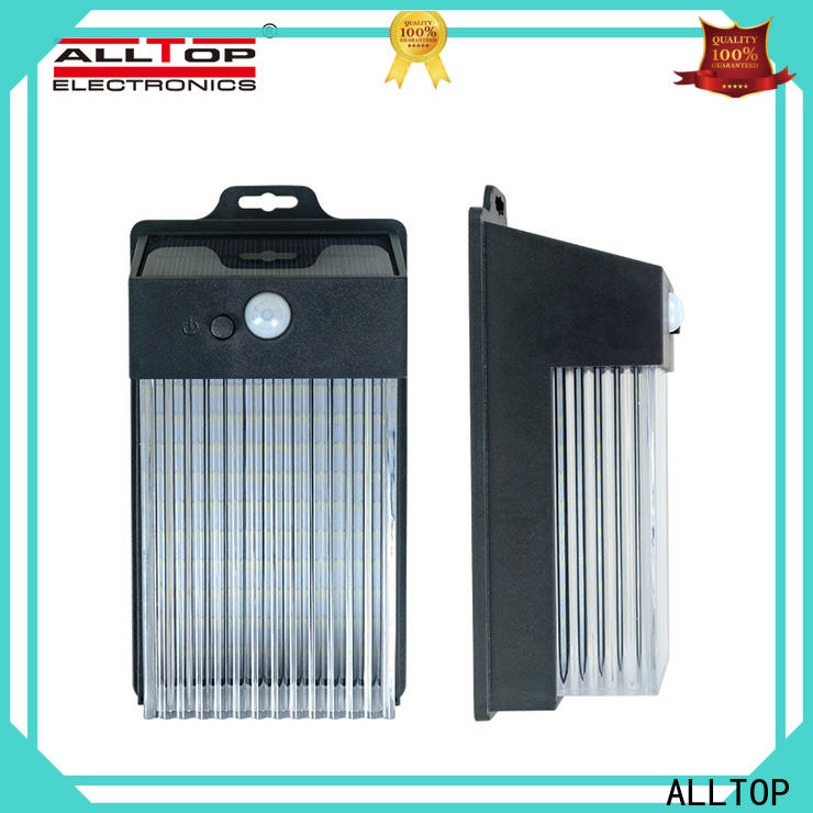 ALLTOP solar wall sconce with good price for party
