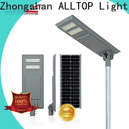 ALLTOP energy-saving outside solar lights directly sale for highway