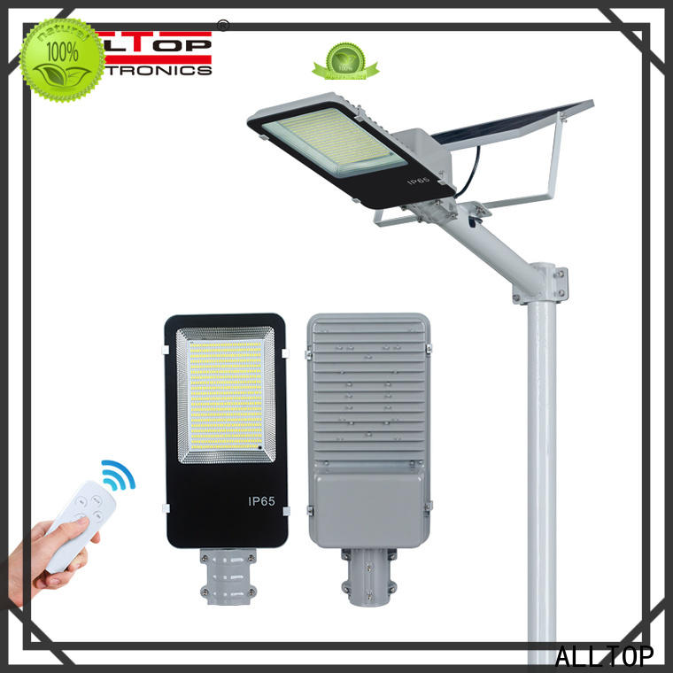 ALLTOP top selling 9w solar street light series for playground