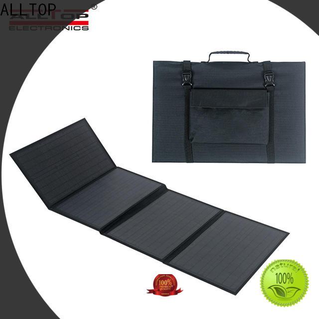 ALLTOP solar dc lighting system supplier for camping