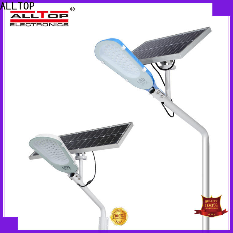 ALLTOP top selling 9w solar street light factory for playground