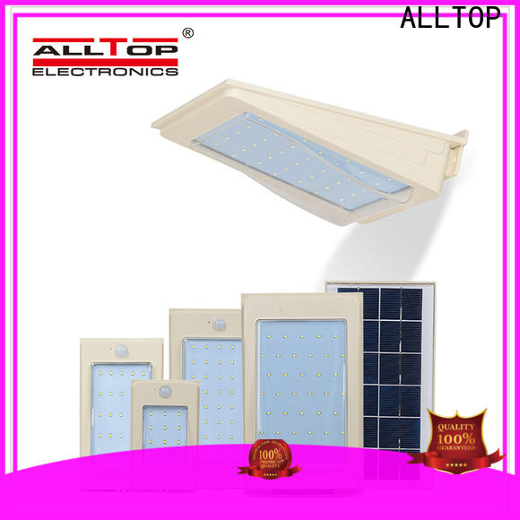 ALLTOP energy-saving solar wall sconce wholesale for garden