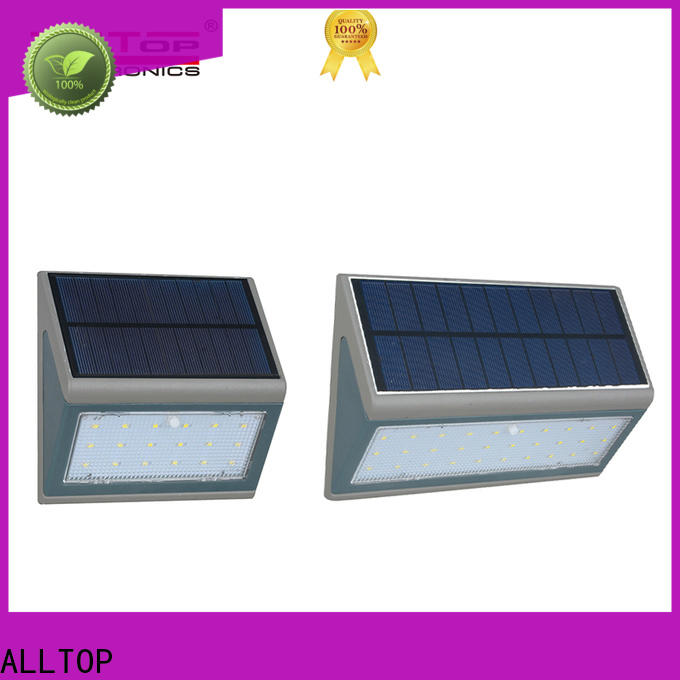 ALLTOP energy-saving solar wall sconce manufacturer highway lighting