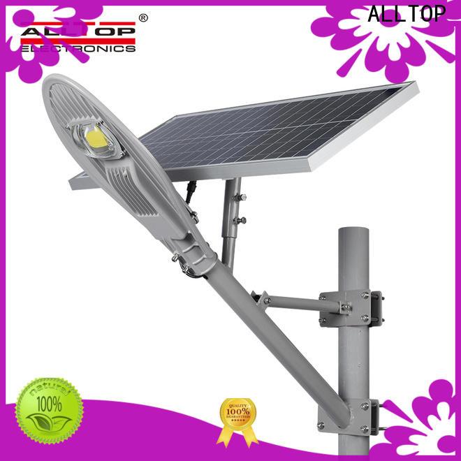 ALLTOP 9w solar street light supplier for playground